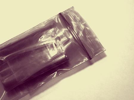 plastic bag: plastic bag