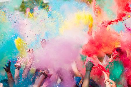 Colorful Felicità Archivio Fotografico