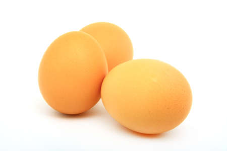 chicken eggs to cook healthy variety of foods daily. Stock Photo - 10767056