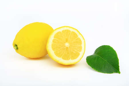 Lemon, a fruit to flavor food or to make a refreshing drink. photo