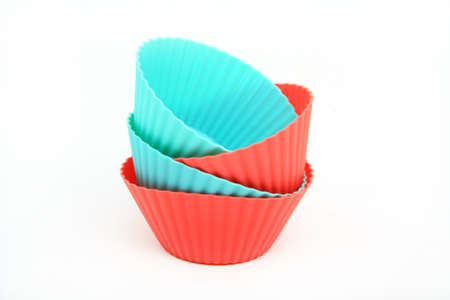 containers to make cupcakes for breakfast or snack. photo