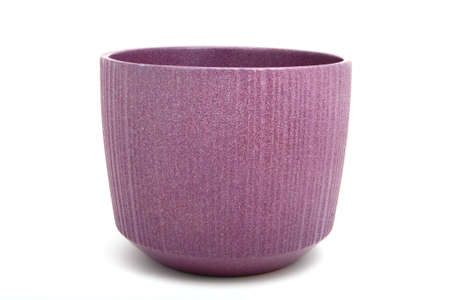 a vase to put land to grow flowers for home decor. photo