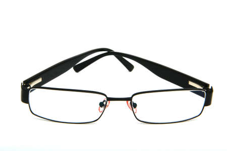 Men glasses for vision problems to use fashion. photo