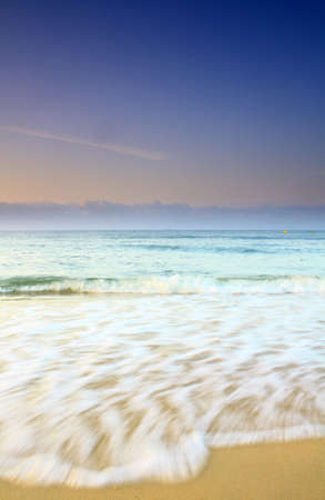 unspoilt: a fantastic beach in southern Portugal - Algarve. Stock Photo