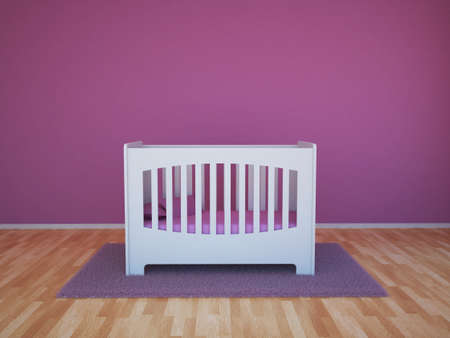 toddlers: Baby room Stock Photo