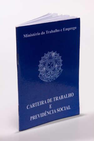 Document obligatoire pour ceux qui viennent de payer une sorte de service professionnel au Brésil Banque d'images - 21160293