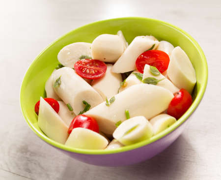 palmetto: Palmetto salad, low calorie meal typical of Brazil