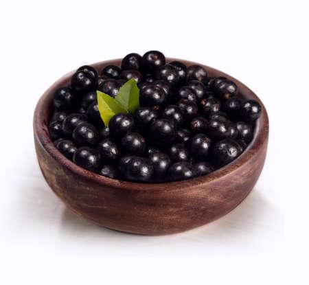 acai: Acai fruit typical of the Brazilian Amazon, has a great energy source  Stock Photo