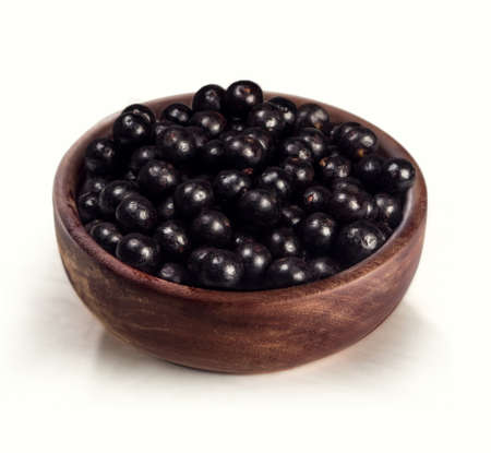 Acai fruit typical of the Brazilian Amazon, has a great energy source  Archivio Fotografico