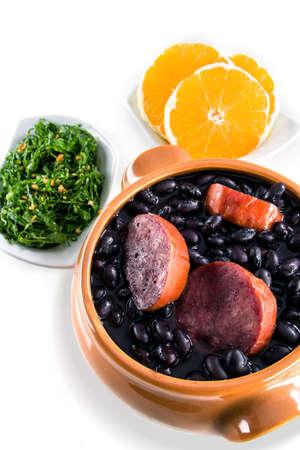 Feijoada, a traditional recipe of Brazilian cuisine Archivio Fotografico