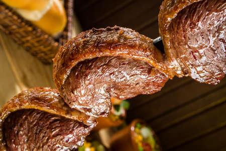 Picanha, la viande typique de barbecue brésilien Banque d'images - 21498440