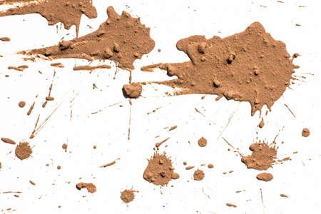 Texture argile déplacer en blanc Banque d'images - 27682890