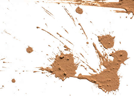 Texture argilla in movimento in bianco Archivio Fotografico - 27682920