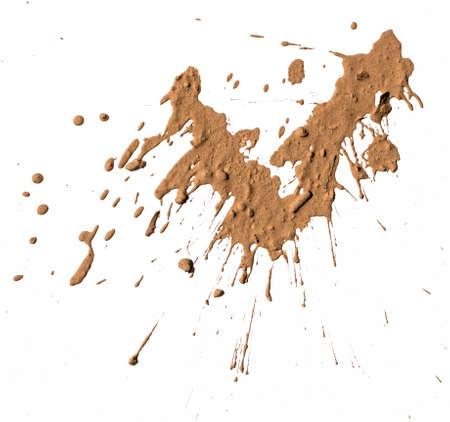 Texture argile déplacer en blanc Banque d'images - 27683792
