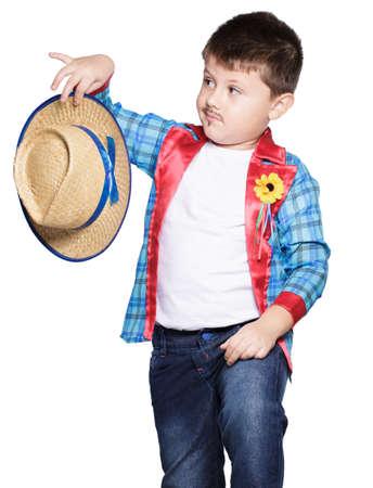june: Boy for June festival Stock Photo
