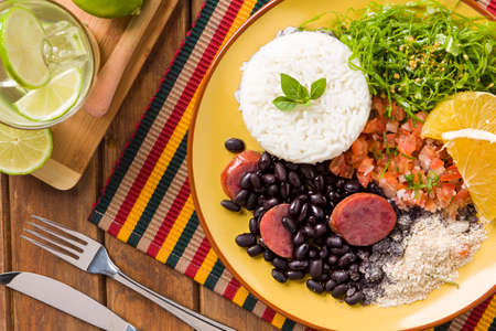 Feijoada, la tradition de la cuisine brésilienne Banque d'images - 49852984