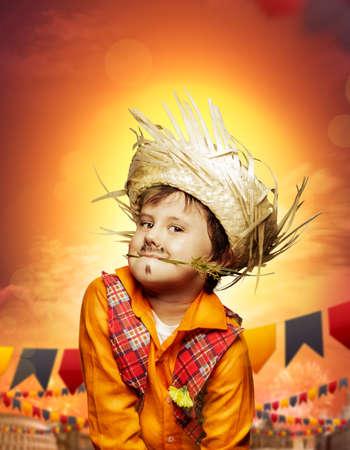 Boy for June festival Reklamní fotografie