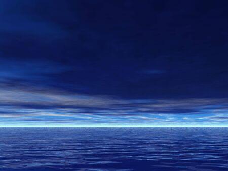 mares: En serio y el cielo azul de mares