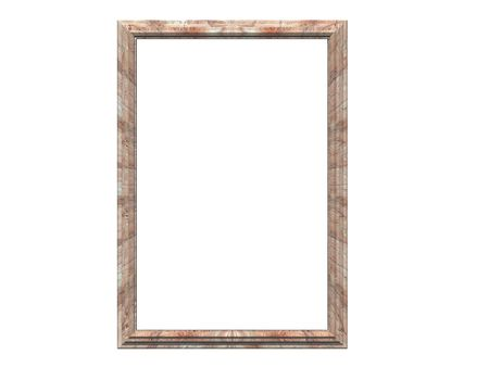 Isolated stoney frame Reklamní fotografie