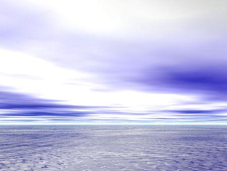 mares: Calma los mares y los cielos