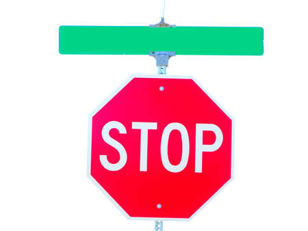 mph: Isolated stop sign