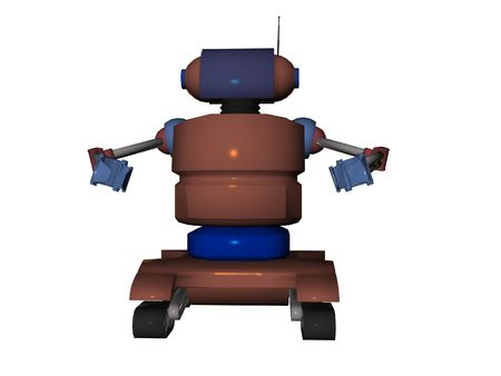 Isolated robot