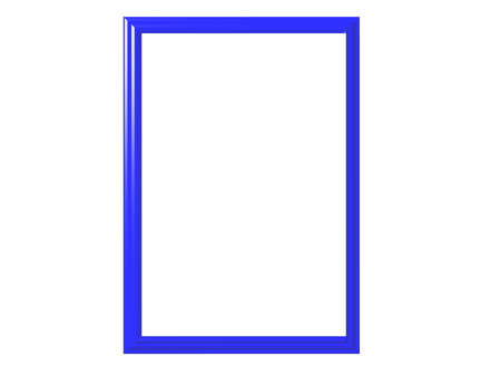 Isolated blue frame Reklamní fotografie