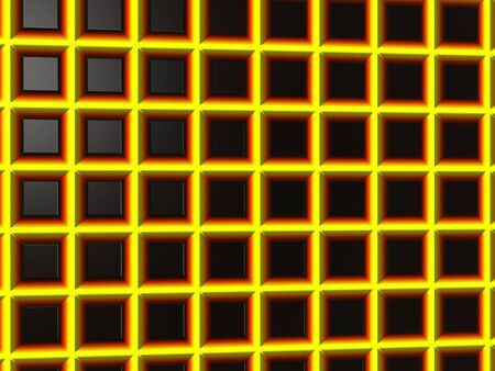 grid: Yellow grid background