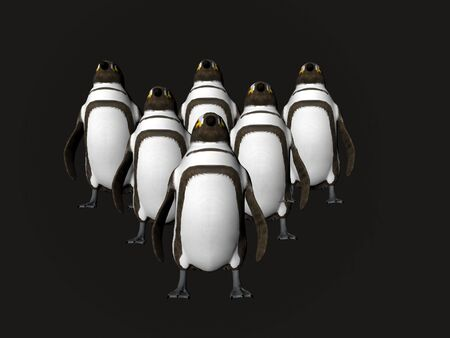 Formatiion of penguins