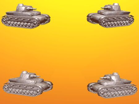 Isolated tanks with copy space