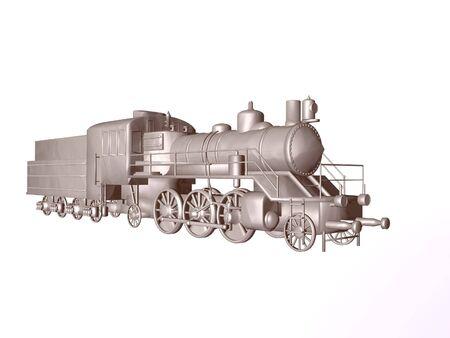 immobile: Isolated iron Train