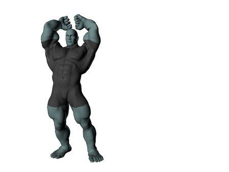 brute: Muscolare bruta  Archivio Fotografico