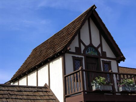 Medieval house detail