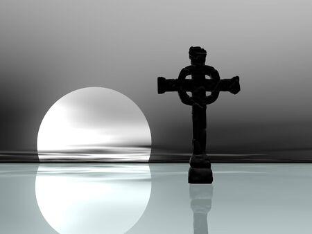 sacrosanct: Cross upon the ice