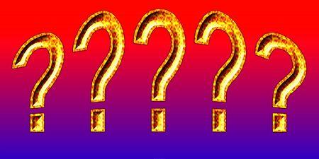 3d Question Mark text Zdjęcie Seryjne