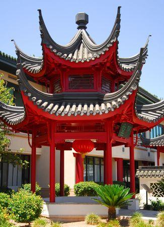 Brillante y estilizada Pabellón chino  Foto de archivo - 425573