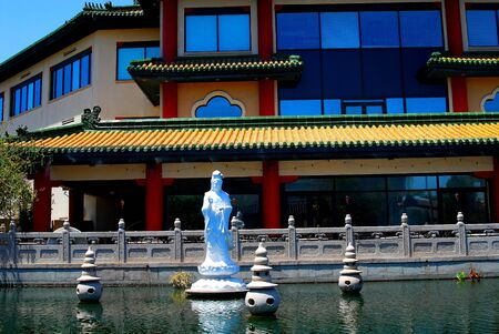 Ancient Chinese water garden Stock Photo - 425538