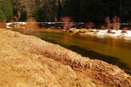 merced: Yosemite valley Merced river