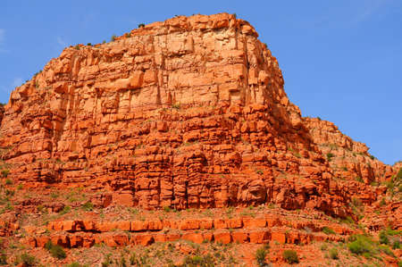 rock formation: red cliffs and rock formations at sedona arizona