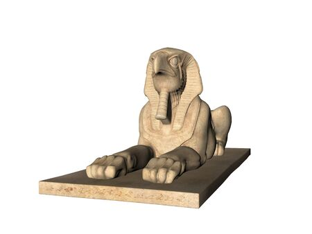 Ancient Egyptian Statue Sphinx