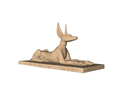 Anubis statue Stock Photo - 9204372