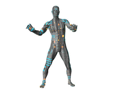 destroyer: Robot  Stock Photo