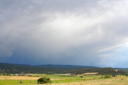 A storm approaching in the high western mountains Stock Photo - 9183786