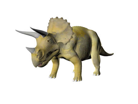 Triceratops an ancient jurassic extinct reptile photo