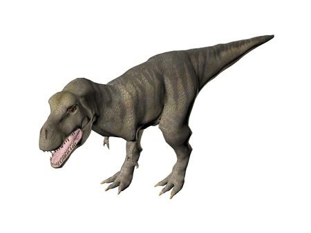 恐竜ティラノサウルス ・ レックスのイラスト
