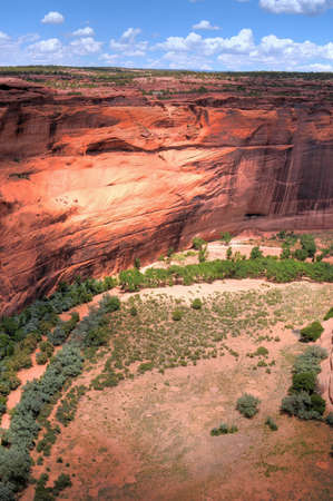 Canyon de Chelly entrance the Navajo nation photo