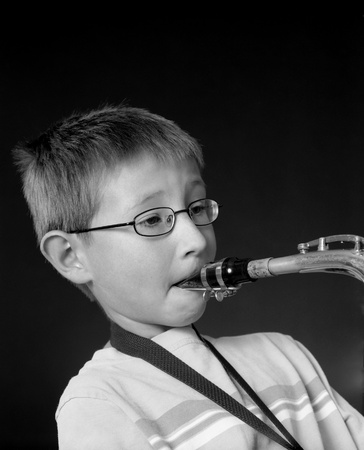 Saxophone Player photo