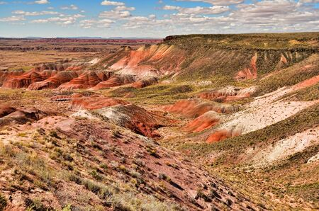 Storm clouds forming over the Painted Desert in Arizona Stock Photo - 10857346