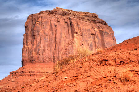 The beginning of winter at Monument Valley   photo