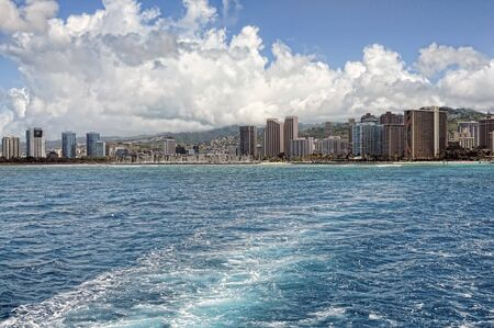 The city of Honolulu Hawaii USA photo